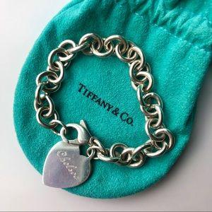 """Tiffany & Co Chain Link """"Chelsea"""" Bracelet"""